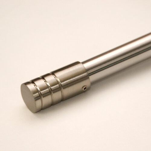 Henger széthúzható acél karnis, 120 - 210 cm