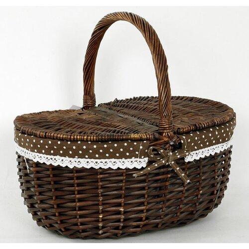 Proutěný košík Salvada, 40 x 36 cm