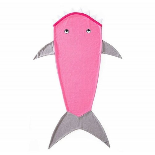 Domarex Detská deka Žralok ružová, 145 cm