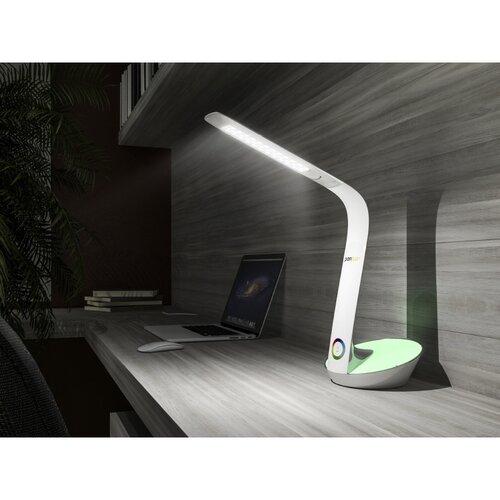 Panlux Stolná LED lampička s podsvietením Odette, biela