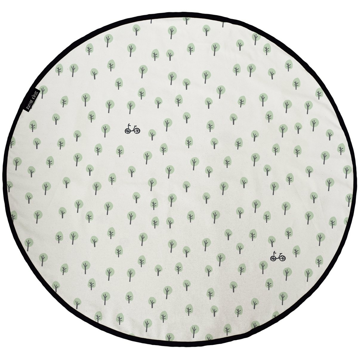 Butter Kings Bavlnený herný koberec Nature, 130 cm