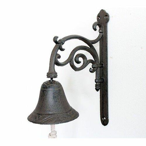 Liatinový zvonček Paz, 25,5 x 20,5 x 10 cm