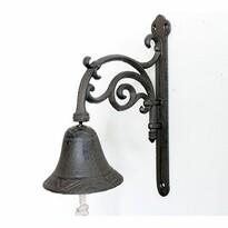 Dzwonek żeliwny Paz, 25,5 x 20,5 x 10 cm