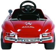 Elektrické autíčko Mercedes-Benz 300 SL W 198, Buddy toys, červená