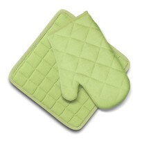 Domarex Ollie konyhai szett, edényfogó és alátét, zöld