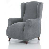 Pokrowiec multielastyczny na fotel Uszak Cagliari szary, 70 – 100 cm
