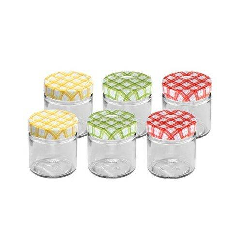 Tescoma 6-dielna sada zaváracích pohárov DELLA CASA, 200 ml