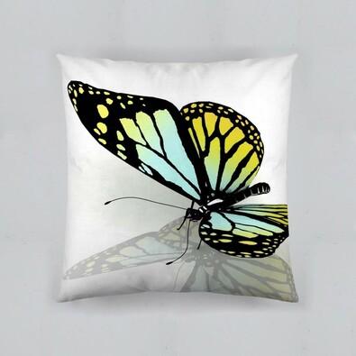 Polštářek Motýl 3D, 40 x 40 cm