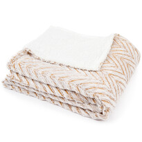 4Home Luxusná XXL deka s baránkom a kožušinkou So Soft, 220 x 240 cm