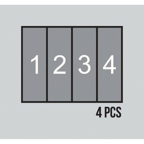Dětská fototapeta XXL Krteček, 360 x 270 cm, 4 díly