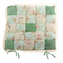 Sedák Patchwork zelená, 40 x 40 cm
