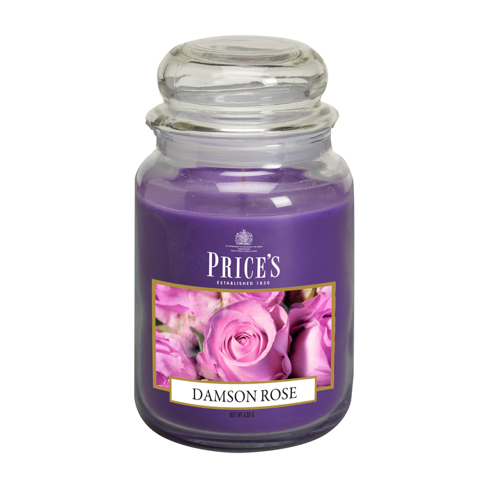 Price's Vonná svíčka ve skle Large Jar Damson Rose