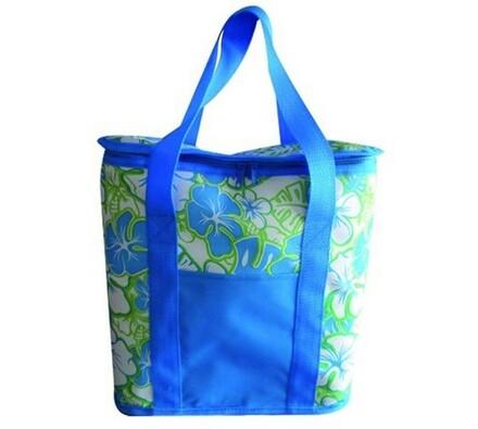 Chladící taška, modrá + zelená, 20 l, Vetro Plus, modrá + zelená