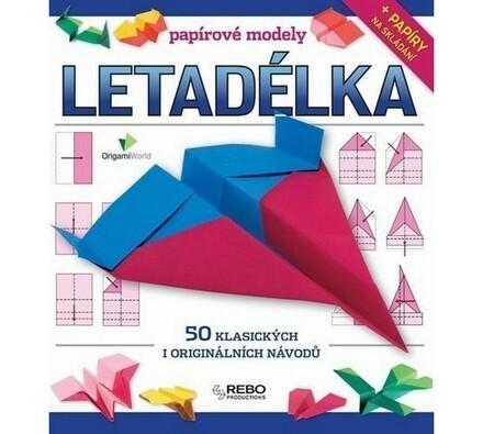 Papírové modely - LETADÉLKA, vícebarevná