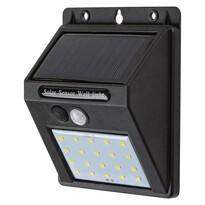 Rabalux 7880 Ostrava vonkajšie solárne LED svietidlo s pohybovým senzorom, 12,5 cm