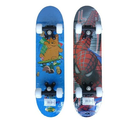 Acra skateboard dětský Spiderman vícebarevná