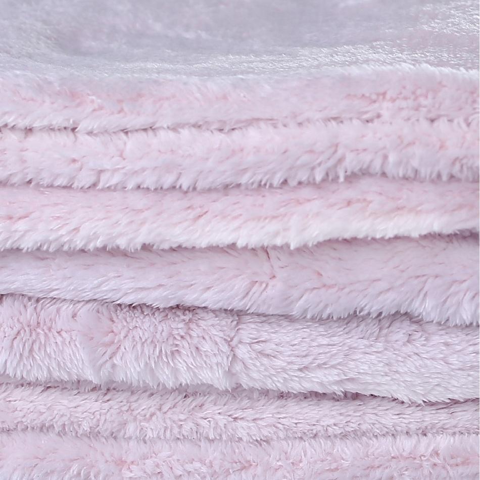 Produktové foto DecoKing Deka Fluff světle růžová, 150 x 200 cm