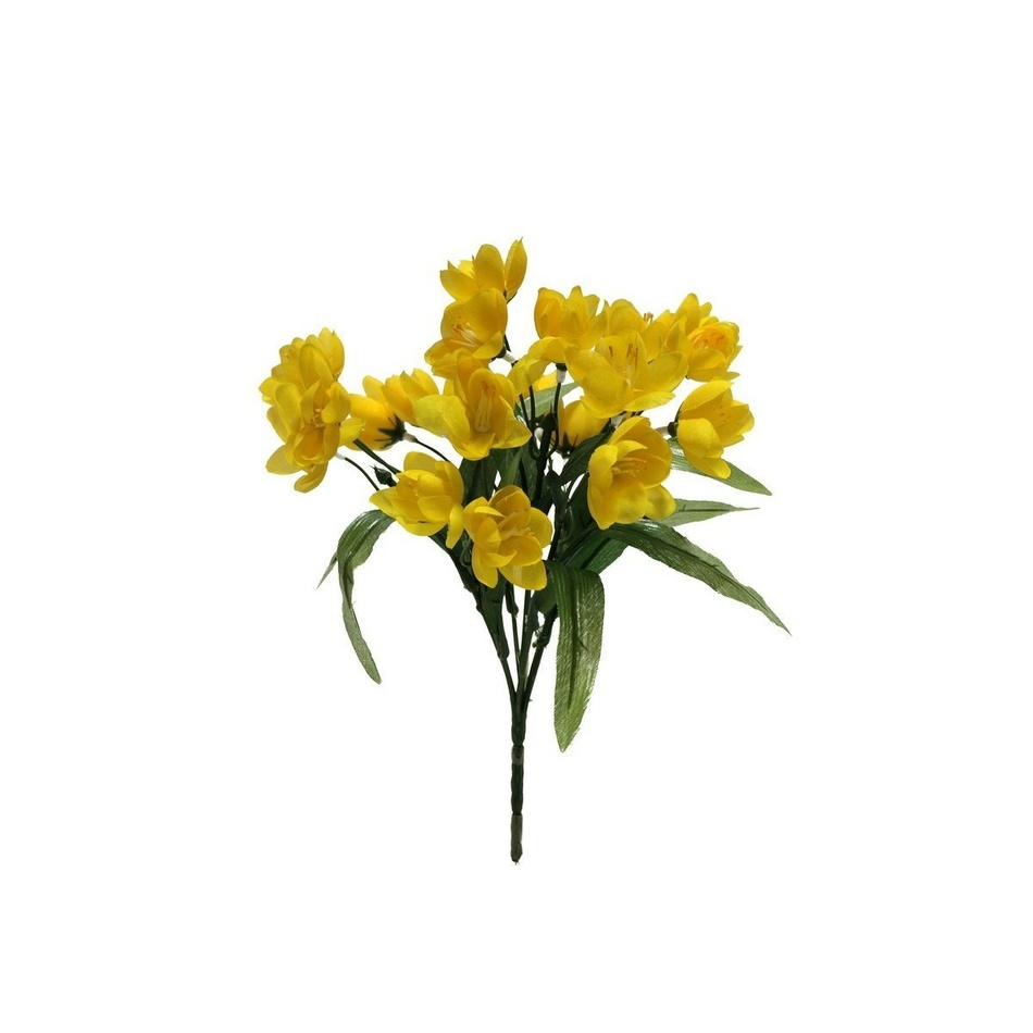 Umelá kvetina šafrán, sada 5 ks