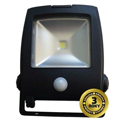LED světlo Solight venkovní reflektor se senzorem 20W, černý, A+, IP44, 6000K, 1600lm, poh (WM-20WS-C)
