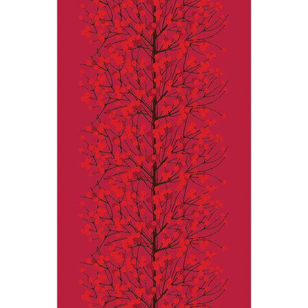 Marimekko obrus na stôl Lumimarja 160 x 250 cm, červený