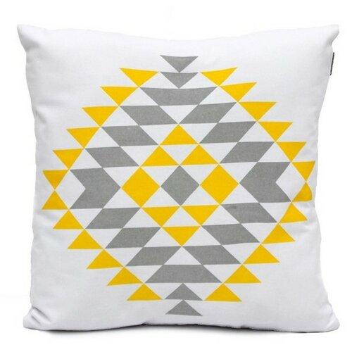"Domarex Povlak na polštář  Yellow Space Love ""BOHO"", 45 x 45 cm"