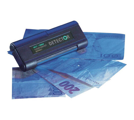 UV lampa na bankovky