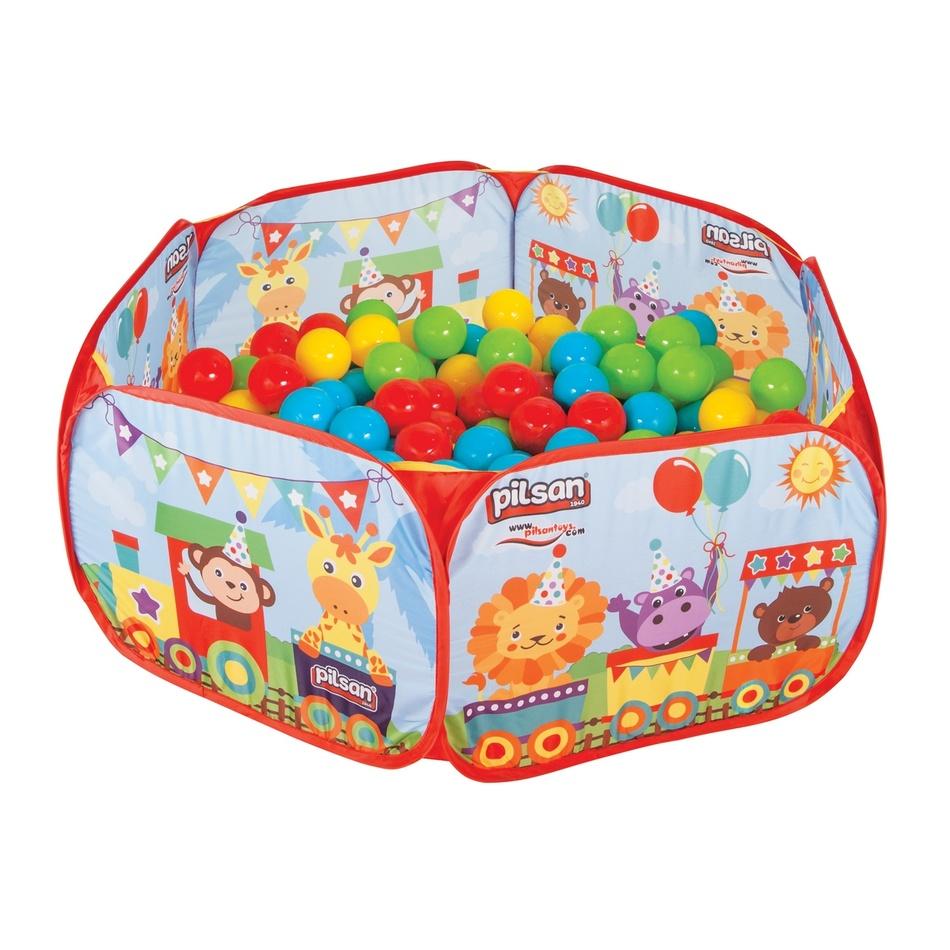 Pilsan HrPilsan Toys Hrací ohrádka a 200 míčků