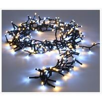 Světelný vánoční řetěz Twinkle studená a teplá bílá, 700 LED