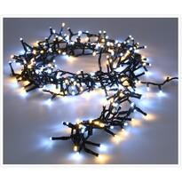 Twinkle karácsonyi fényfüzér hideg és meleg fehér, 700 LED-es