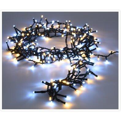 Instalație luminoasă de Crăciun Twinkle, alb rece și cald, 700 LED-uri