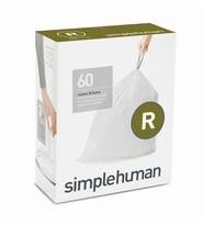 Simplehuman Vrecia do odpadkového koša R 10 l, 60 ks