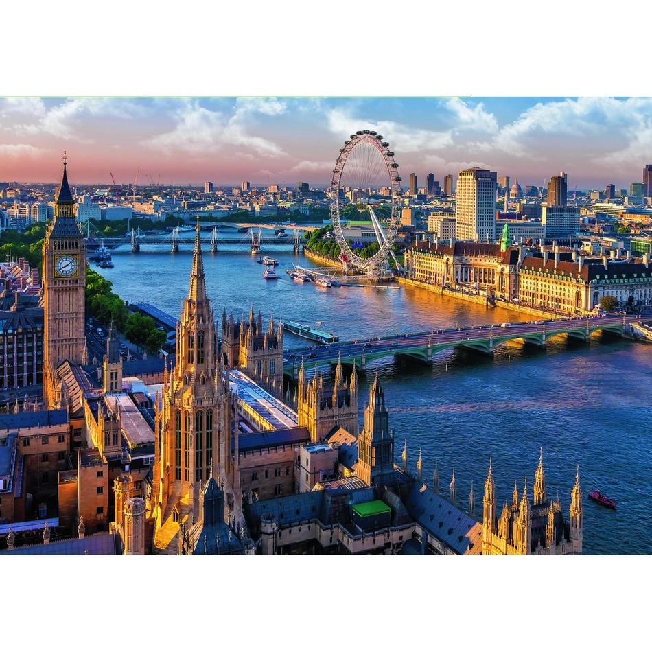 Puzzle Trefl 10404 Londýn 1000 dílků