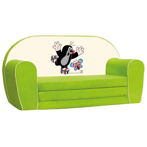 Bino Mini canapea Cârtița, verde