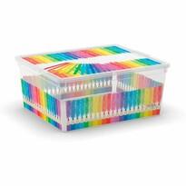 KIS Dekoračný úložný box Arty M, 18 l