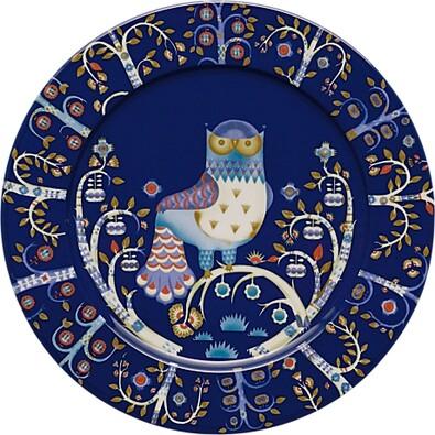 Talíř mělký Taika 30 cm, modrý
