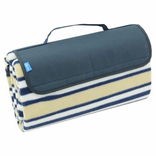 Pătură picnic Cattara Fleece, albastru 150 x 135 cm