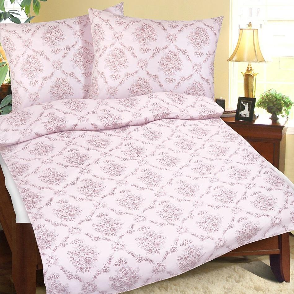 Bellatex Lenjerie de pat din bumbac Vis roz, 140 x 200 cm, 70 x 90 cm imagine