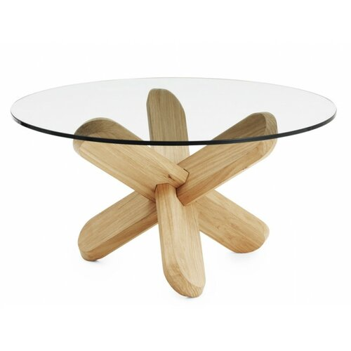 Normann Copenhagen Stôl Ding 40 cm, drevený