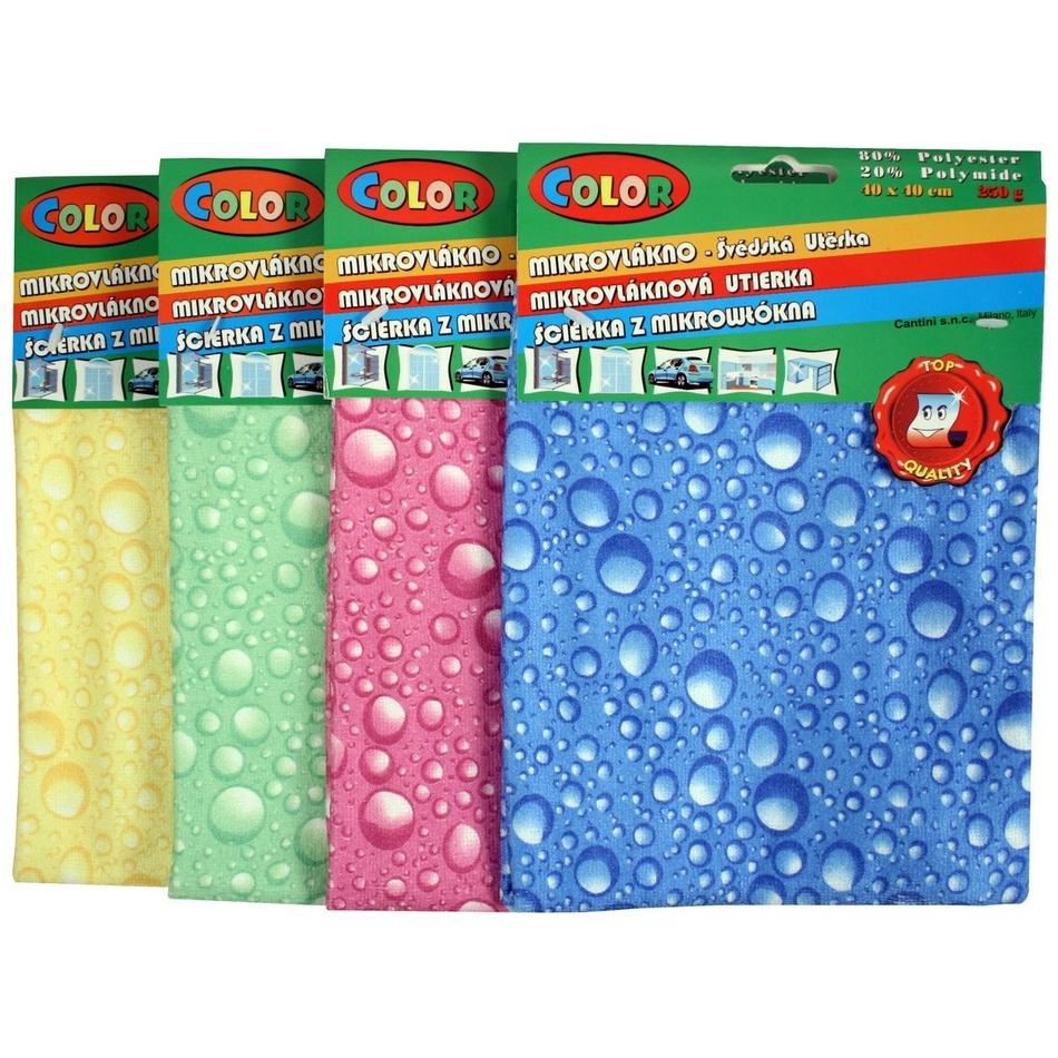 Utierky z mikrovlákna Colour Bubbles,