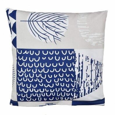 Față de pernă Patchwork albastru închis, 40 x 40 cm
