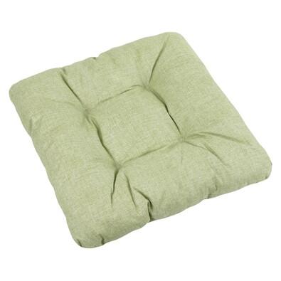 Siedzisko Adela UNI zielony, 40 x 40 cm