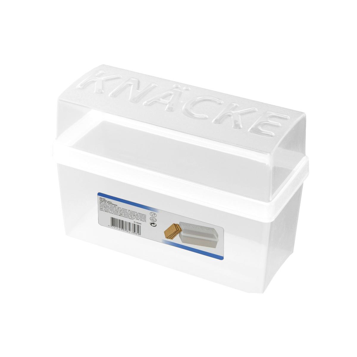 Box na krekry, biela