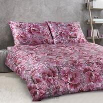 Veba Saténové povlečení GEON Třešňový květ, 140 x 200 cm, 70 x 90 cm