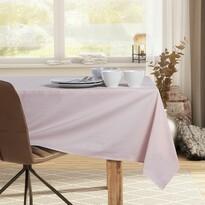 DecoKing Față de masă Pure, roz pudră, 110 x 110 cm