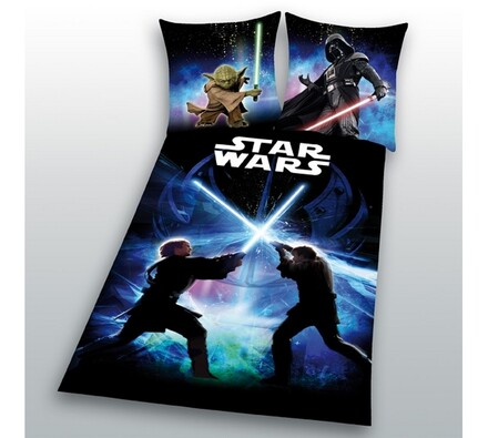 Povlečení Star Wars, 140x200, 70x90 cm