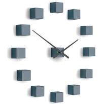 Future Time FT3000GY Cubic grey Designové samolepiace hodiny, pr. 50 cm