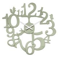 Koziol Nástenné hodiny PI:P zelená, pr. 45 cm