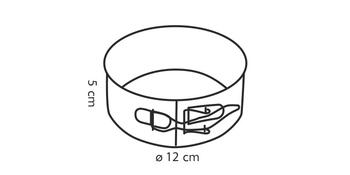Tescoma Delícia forma na dort 12 cm