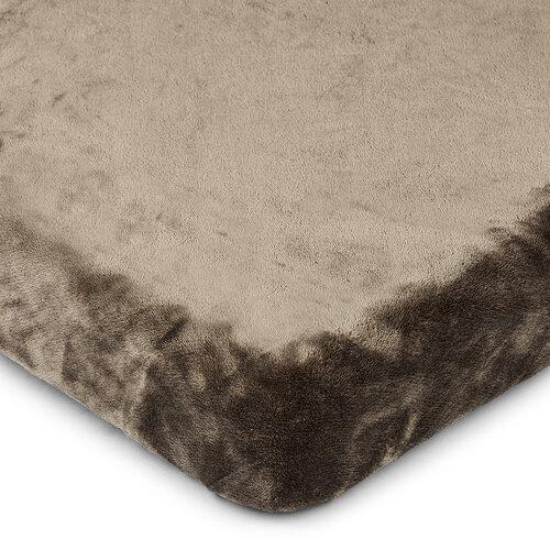 4Home mikroflanel lepedő, sötétszürke,160 x 200 cm