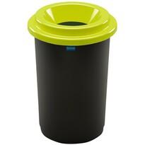 Aldotrade Kosz na śmieci na odpady segregowane Eco Bin 50 l, zielony